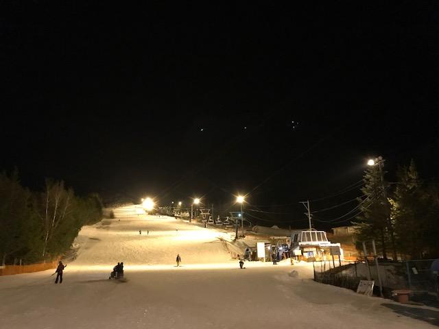 あららぎ高原スキー場のナイター営業がかなり快適【スノボ】