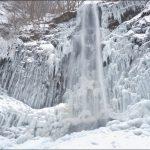 【冬の東北旅行記2】丸池様、胴腹滝、玉簾の滝、樹氷を観てきた