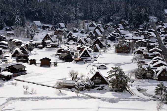 白川郷 冬